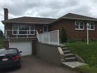 9 JOHNSON – 3 BEDROOM HOME – MONCTON HOSPITAL - AVAIL NOW !!