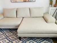French Connection DFS Corner sofa