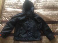 Boys Black Jacket McKinley size 128cm
