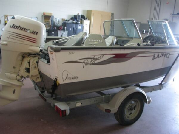 Used 2005 Lund Boat Co 1600 Pro Sport