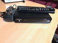 Humax HB-1000S HD FreeSat set top box with remote