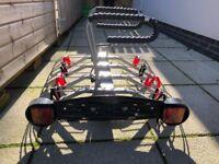 Mottez Mounted Bike Rack
