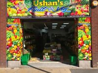 Fruit & Vegetable Shop Lease for Sale in Ilford