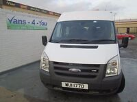 2008 ford transit 15 seater choice of 2 prices are from £5750 base in derry belfast long mots