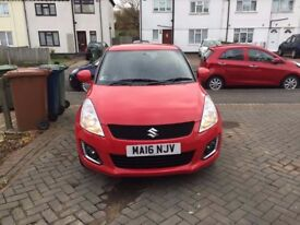 Excellent condition, Suzuki Swift 2016, 1.2 petrol manual hatchback, 1 owner, ABS, cheap insurance
