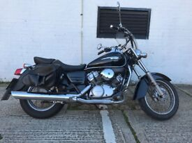 Honda Shadow VT125 C-4, learner legal, low mileage