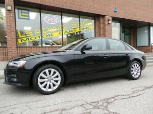2013 Audi A4 2.0T*AWD*SUNROOF*ALLOYS*
