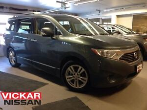 2013 Nissan Quest 3.5 SL/LEATHER/DVD/MOONROOF/EXTREMELY RARE!!