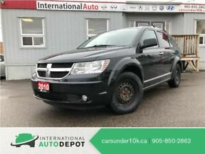 2010 Dodge Journey R/T | AWD | LEATHER | DVD | BACK-UP CAM