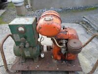 Jap stationary engine generator set. Not wolseley or lister