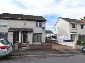 **NEW** UnFurnished 2 Bedroom House, Enclosed Rear Garden, Driveway - Hallidale Crescent - Renfrew