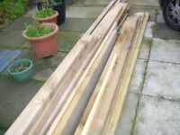 NEW DECKING WOOD