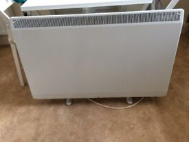 creda tsr electric storage heaters 79364/6 white,1 year old as new width 1020 height 710 depth 170