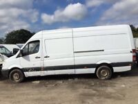 Mercedes sprinter w903 parts available engine gearbox ecu set axel spring gear selector calaper