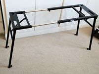 Tiger KYS21-BK Adjustable Piano / Keyboard Stand