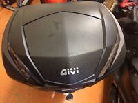 Used GIVI V47 NN Tech Monokey Motorcycle Top Box-good condition-open for offers