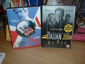 Italian Job / The A-Team / Jamanji / Zathura DVD's