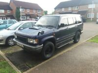 isuzu trooper bighorn 4x4/off roader/sell or swaps