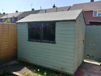 Garden Shed 8 x 6 approx
