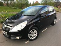 VAUXHALL CORSA CLUB 1.3 CDTI#09 REG 2009#FSH#SAT NAV#5 DOOR#£30 ROAD TAX#MINT COND#MANUAL#ALLOYS#.