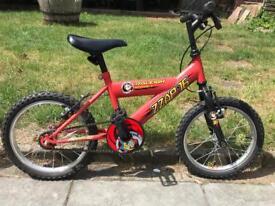 Kids Boys Raleigh Mission Bike 16 inch