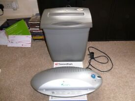 Laminator & Shredder
