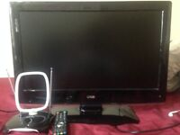 Logic 26'' HD ready 1080p LCD with aerial and remote control