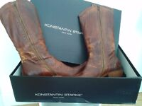 KONSTANTIN STARKE New York Woman Brown Boots EU 39.5 UK 7 Used one single time.