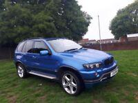 2003 BMW X5 4.6IS ESTRIOL BLUE 99K