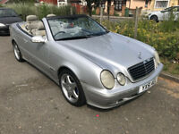 READ AD - mercedes CLK Convertible 230 2.3 Petrol Automatic - Leather seats AMG alloys