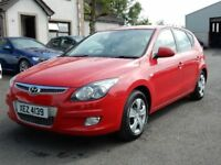 2009 Hyundai I30 ES 1.4 petrol with only 83000 miles, motd july 2019