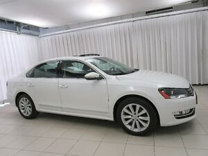 2012 Volkswagen Passat TDI Highline! Heated Leather, Sunroof, ++