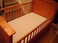 Solid Wood Cot bed/ Toddler bed with undercot Storage Draw