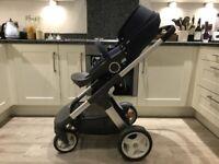 Stokke Pram / Pushchair / Stroller & Stokke Car Seat