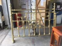 King Size Brass Bed frame