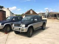 WANTED mitsubishi L200 for spares or repair breaking engine 4d56