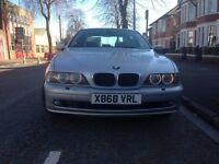 2001 Bmw 525 5 Series E39 525i Left Hand Drive Lhd from Sweden Registered in U.K. 11 Months M.O.T