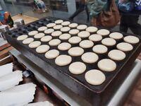 Cast Iron - Pancake Plate (mini dutch pancakes/Poffertjes)