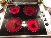Diplomat APLI 340 Hob & Baumatte Stainless Steel Oven