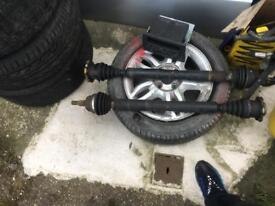 Vw mk4 gti 1.8t driveshaft