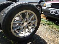 bmw z4 10 spoke wheels 225/50/16