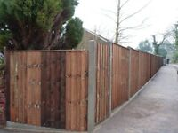 ALL TYPES OF FENCING SUPPLIED, REPAIRED, ERECTED, POST & RAIL / ANIMAL FENCING / GARDEN FENCING