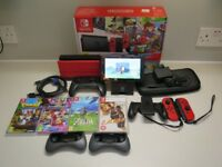 Big Nintendo Switch Bundle, Boxed with 4 Games and Accessories (128GB Memory, Pro Controller + More)