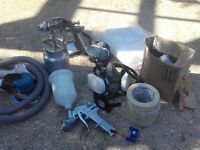 car/ boat/ bike etc spraying kit