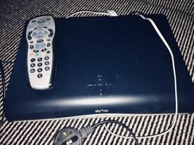 SKY BOX with remote in perfect condition