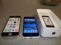 Apple iphone 5c (8gb) unlocked .. almost 2 years old .. excellent condition £100 ono