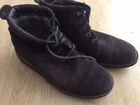 Rockport brown suede boots UK size 10.5