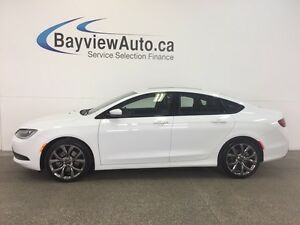 2016 Chrysler 200 S- PANOROOF! REM START! LEATHER! NAV! ALPINE!