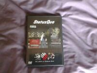 STATUS QUO, THE PARTY AIN'T OVER YET. 2 DVD SET.