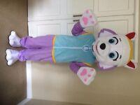 UK SELLER look alike Everest Mascot Costume fancy dress Dog Dress